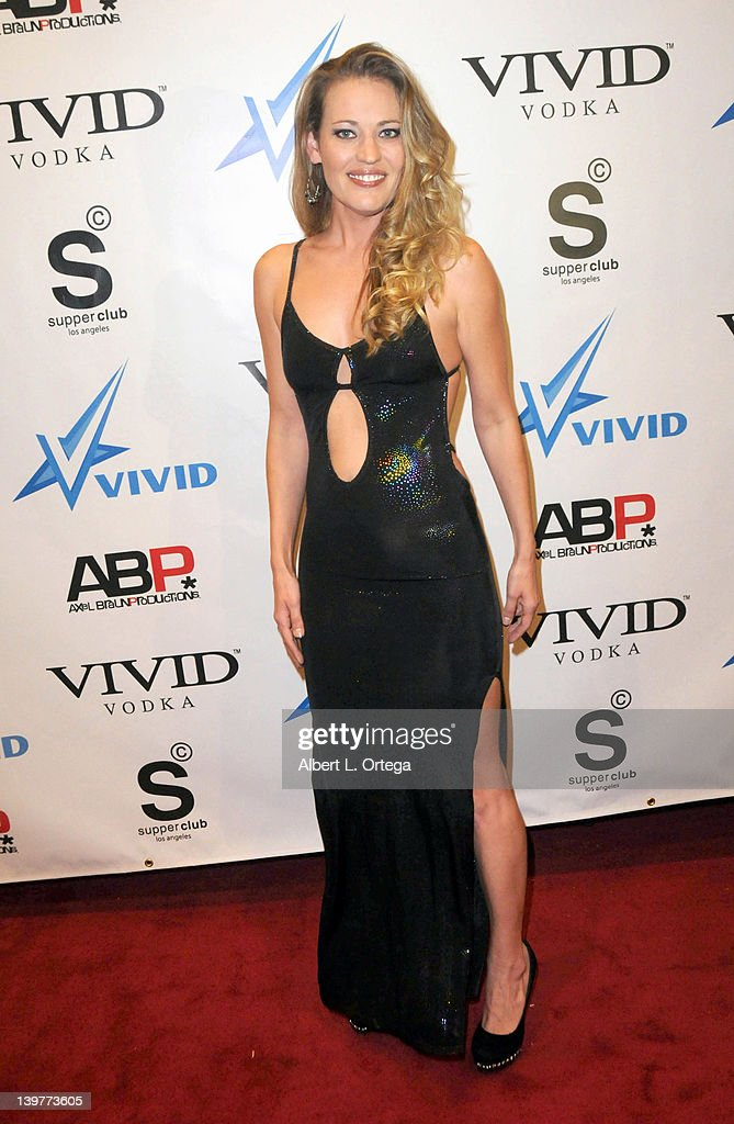 Adult actress Daisy Layne arrives for the Premiere Of Vivid Entertainment's 'Star Wars