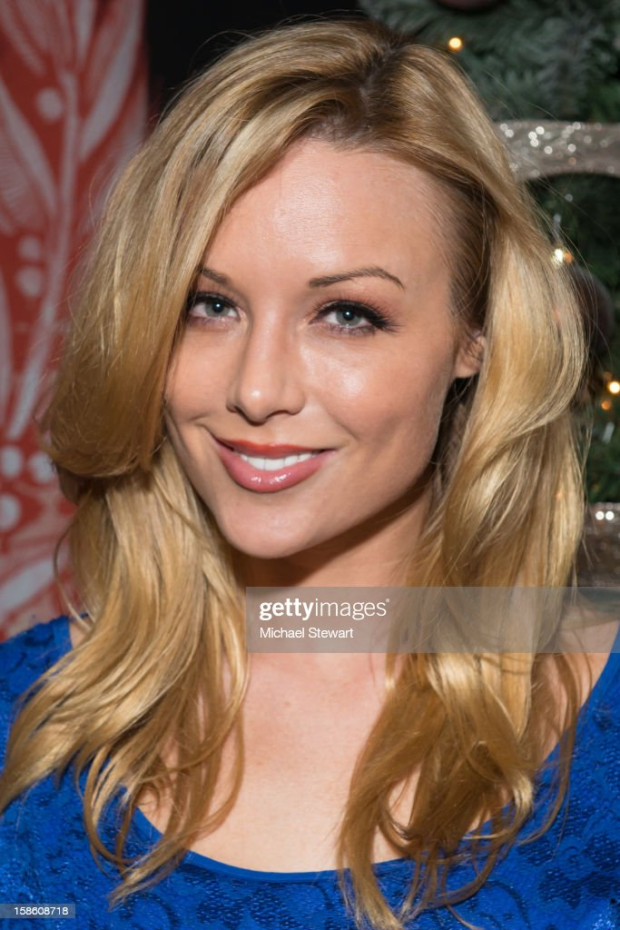 Adult actress Kayden Kross attends the XXXMas Spectacular event at Headquarters on December 20, 2012 in New York City.