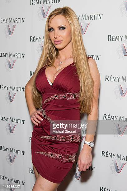 Adult actress Nikki Benz attends Lisa Ann's Birthday at WIP on May 6 2012 in New York City