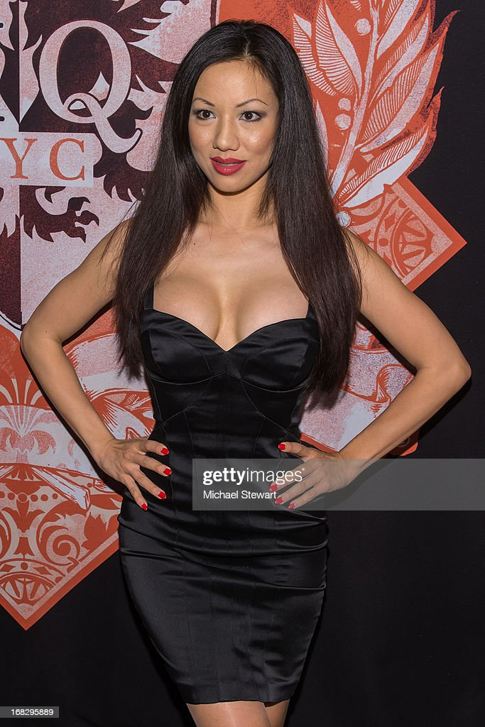 Adult actresses Jade Vixen attends Lisa Ann's Birthday Celebration at Headquarters on May 7, 2013 in New York City.