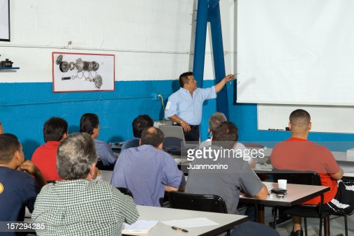 Adult Class Automobile technicians