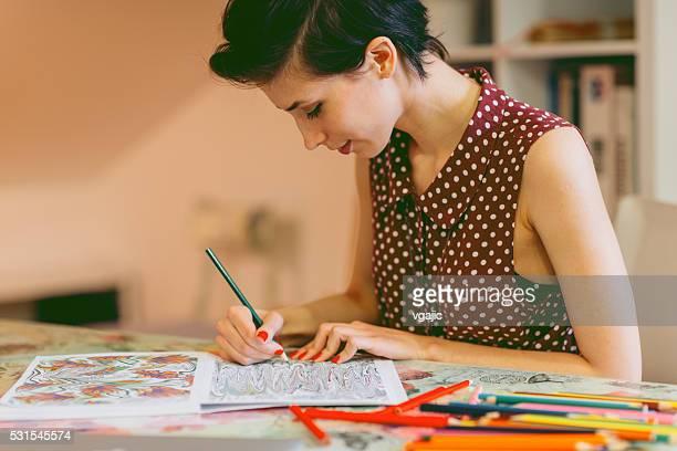 Adulte des livres de coloriage
