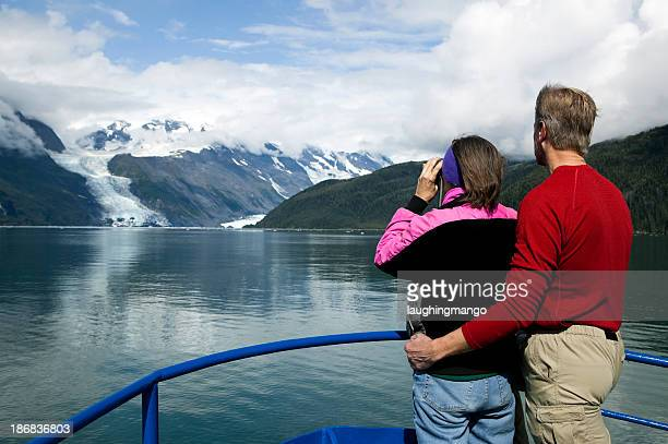 Erwachsenen paar alaska prince william sound