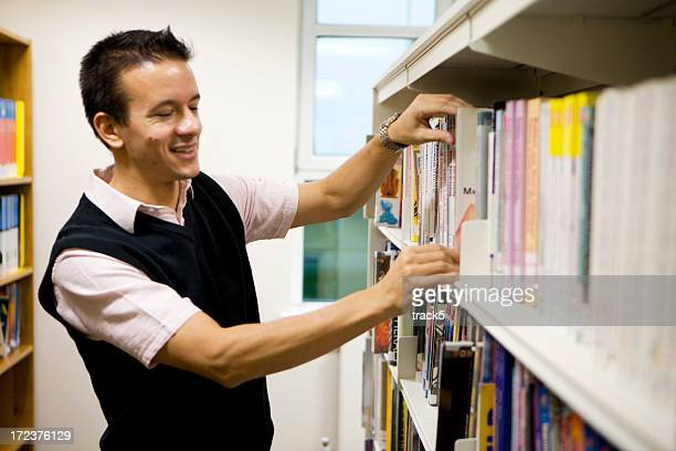 adult education: browsing for books
