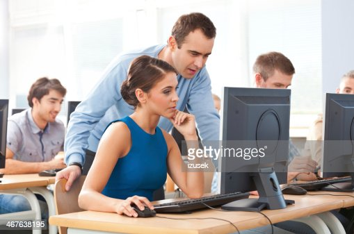 76063 Adult education for computer in