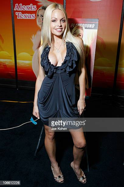 Adult entertainer Jesse Jane attends Exxxotica Expo 2010 at the New Jersey Convention and Exposition Center on November 6 2010 in Edison New Jersey