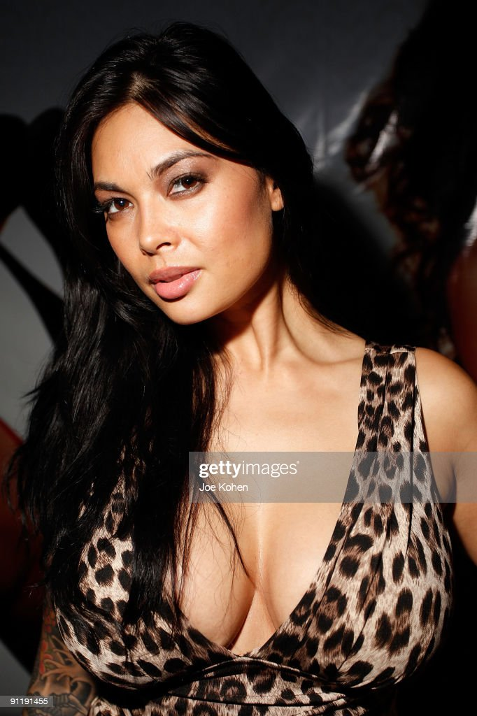 Adult entertainer Tera Patrick attends day 2 of 2009 Exxxotica New York at the New Jersey Convention and Exposition Center on September 26 2009 in...