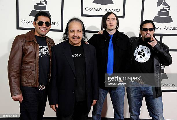 Adult film actor Ron Jeremy and guests attend the 56th GRAMMY Awards at Staples Center on January 26 2014 in Los Angeles California