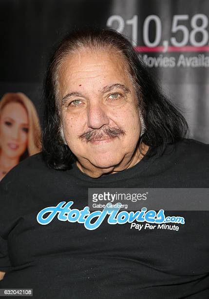 Adult film actor Ron Jeremy appears in the Hot Movies booth during the 2017 AVN Adult Entertainment Expo at the Hard Rock Hotel Casino on January 18...