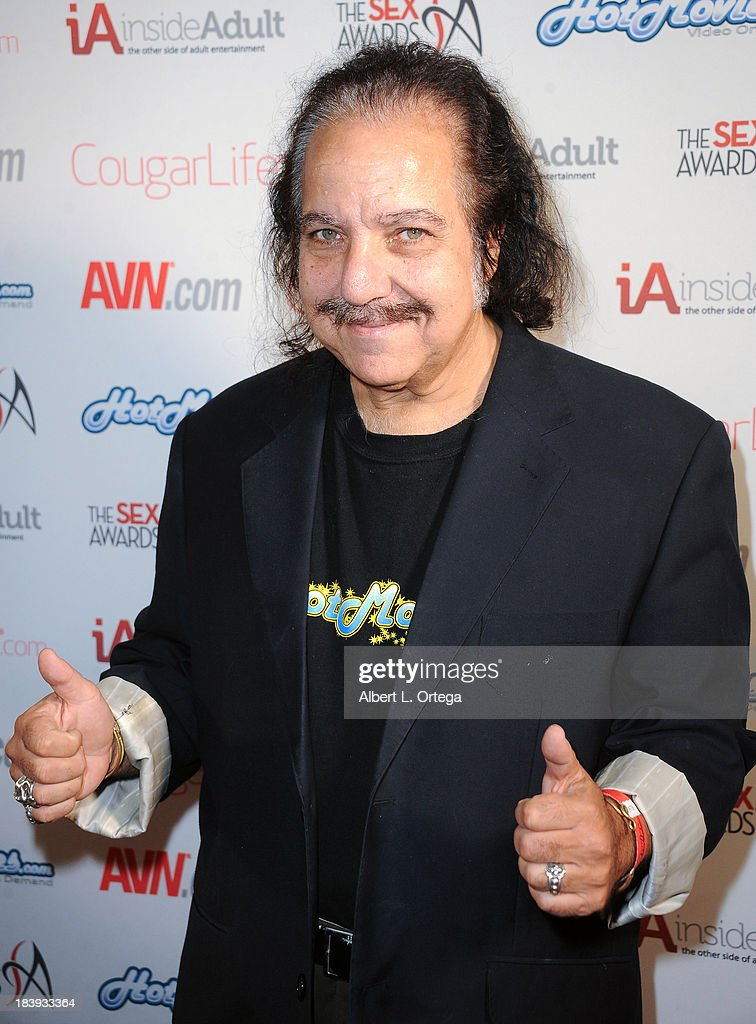 Adult film actor <a gi-track='captionPersonalityLinkClicked' href=/galleries/search?phrase=Ron+Jeremy&family=editorial&specificpeople=206455 ng-click='$event.stopPropagation()'>Ron Jeremy</a> arrives for The 1st Annual Sex Awards 2013 held at Avalon on October 9, 2013 in Hollywood, California.