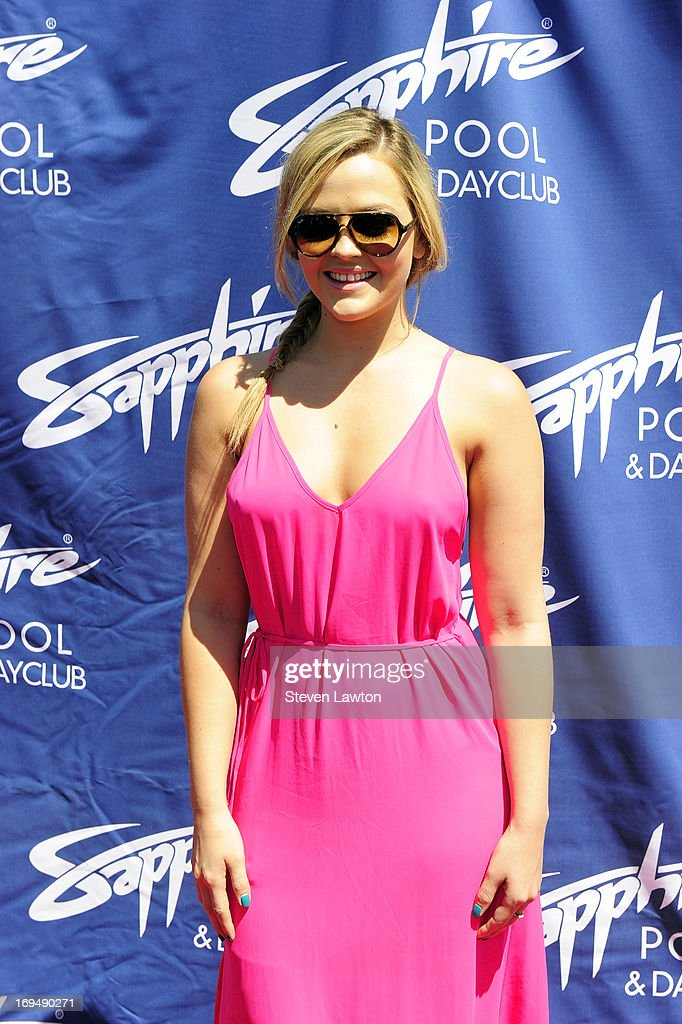 Adult film actress Alexis Texas arrives at the Sapphire Pool & Day Club during Memorial Day weekend on May 25, 2013 in Las Vegas, Nevada.