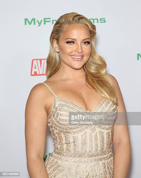 Adult film actress Alexis Texas attends the 2017 Adult Video News Awards at the Hard Rock Hotel Casino on January 21 2017 in Las Vegas Nevada