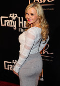 Adult film actress Bree Olson arrives to host 'Goddess White Party' at Posh Boutique Nightclub on November 12 2011 in Las Vegas Nevada