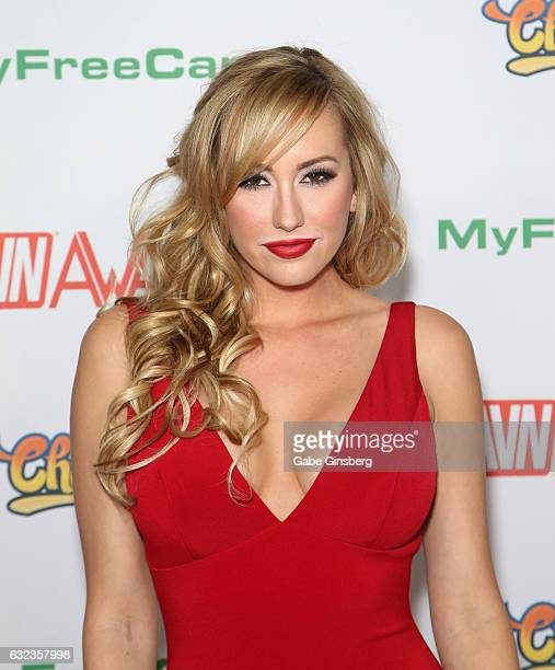 Adult film actress Brett Rossi attends the 2017 Adult Video News Awards at the Hard Rock Hotel Casino on January 21 2017 in Las Vegas Nevada