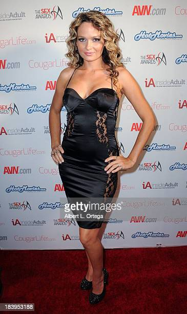 Adult film actress Dani Daniels arrives for The 1st Annual Sex Awards 2013 held at Avalon on October 9 2013 in Hollywood California