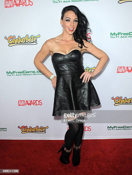 Adult film actress Elizabeth Aston at the 2016 AVN Awards Nomination Party held at Avalon on November 19 2015 in Hollywood California