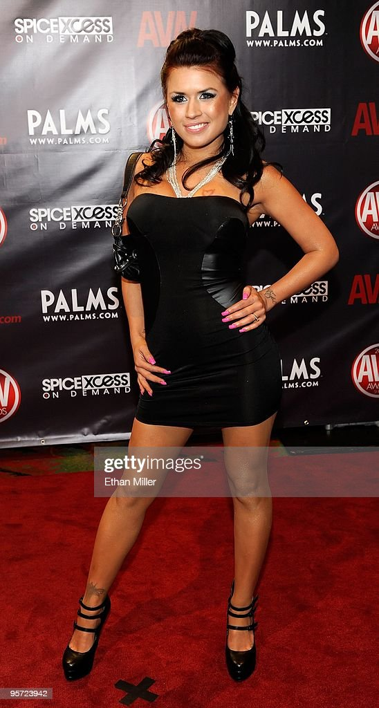Adult film actress Eva Angelina arrives at the 27th annual Adult Video News Awards Show at the Palms Casino Resort January 9, 2010 in Las Vegas, Nevada.