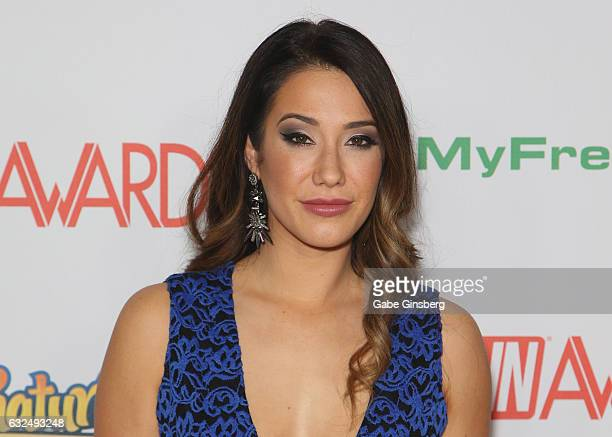 Adult film actress Eva Lovia attends the 2017 Adult Video News Awards at the Hard Rock Hotel Casino on January 21 2017 in Las Vegas Nevada