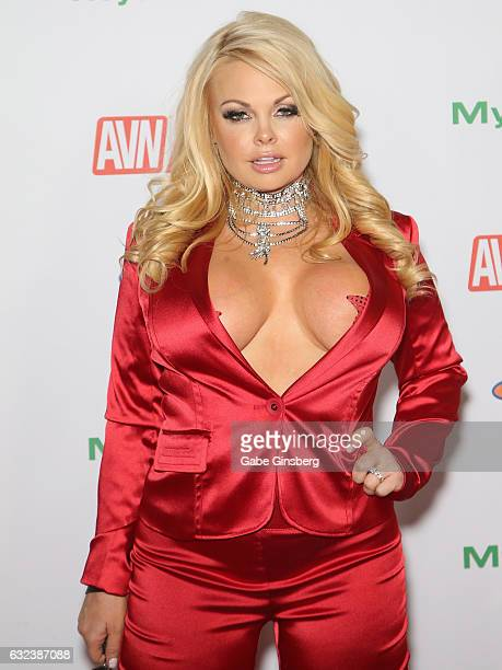 Adult film actress Jesse Jane attends the 2017 Adult Video News Awards at the Hard Rock Hotel Casino on January 21 2017 in Las Vegas Nevada