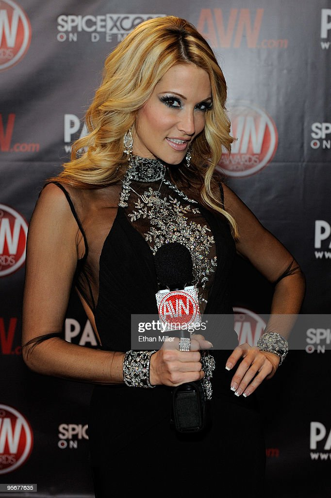 Adult film actress jessica drake arrives at the 27th annual Adult Video News Awards Show at the Palms Casino Resort January 9, 2010 in Las Vegas, Nevada.
