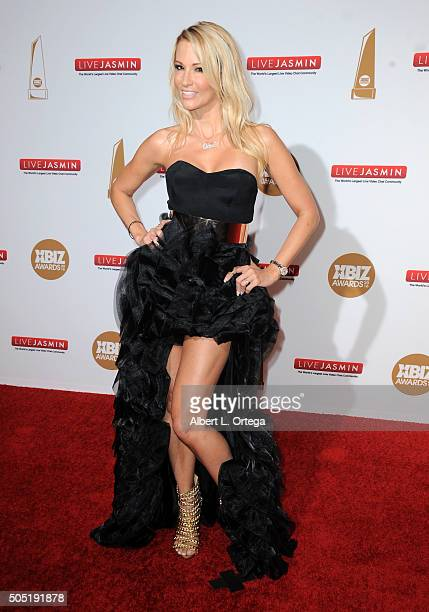 Adult film actress Jessica Drake arrives for the 2016 XBIZ Awards held at JW Marriott Los Angeles at LA LIVE on January 15 2016 in Los Angeles...