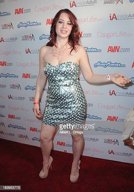 Adult film actress Jessica Ryan arrives for The 1st Annual Sex Awards 2013 held at Avalon on October 9 2013 in Hollywood California
