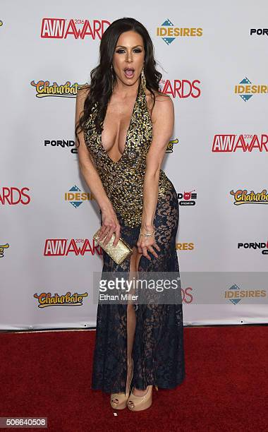 Adult film actress Kendra Lust attends the 2016 Adult Video News Awards at the Hard Rock Hotel Casino on January 23 2016 in Las Vegas Nevada
