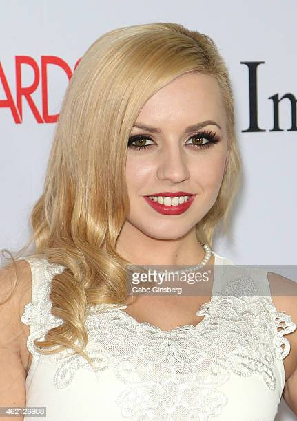 Adult film actress Lexi Belle arrives at the 2015 Adult Video News Awards at the Hard Rock Hotel Casino on January 24 2015 in Las Vegas Nevada