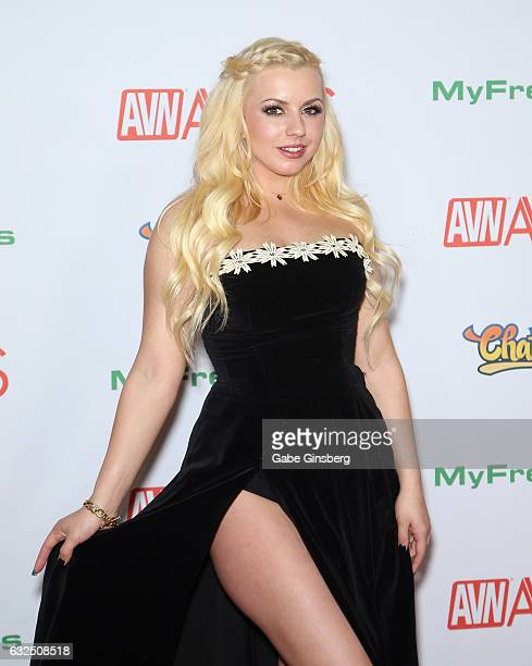 Adult film actress Lexi Belle attends the 2017 Adult Video News Awards at the Hard Rock Hotel Casino on January 21 2017 in Las Vegas Nevada
