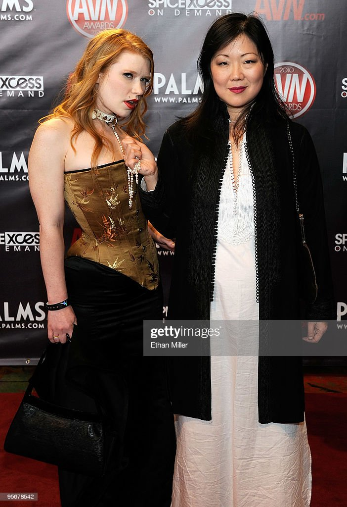 Adult film actress Madison Young (L) and comedian/actress <a gi-track='captionPersonalityLinkClicked' href=/galleries/search?phrase=Margaret+Cho&family=editorial&specificpeople=216403 ng-click='$event.stopPropagation()'>Margaret Cho</a> arrive at the 27th annual Adult Video News Awards Show at the Palms Casino Resort January 9, 2010 in Las Vegas, Nevada.