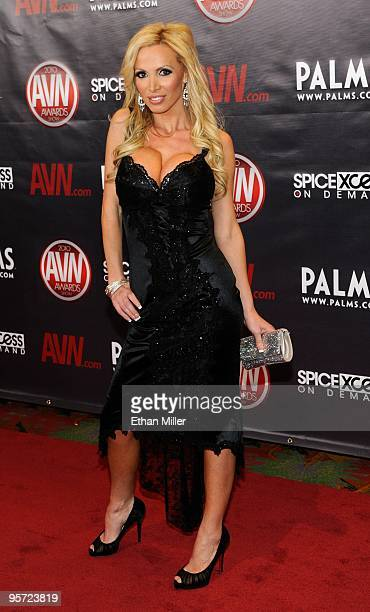 Adult film actress Nikki Benz arrives at the 27th annual Adult Video News Awards Show at the Palms Casino Resort January 9 2010 in Las Vegas Nevada