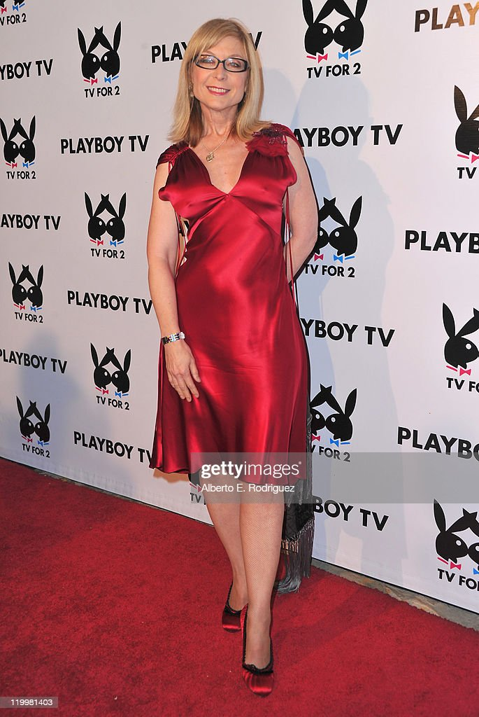 Adult film actress Nina Hartley arrives to Playboy TV's 'TV for 2' 2011 TCA event on July 27, 2011 in Los Angeles, California.