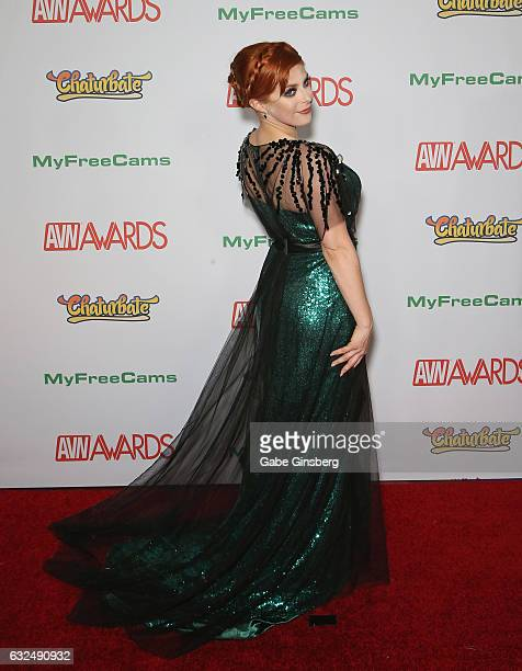 Adult film actress Penny Pax attends the 2017 Adult Video News Awards at the Hard Rock Hotel Casino on January 21 2017 in Las Vegas Nevada