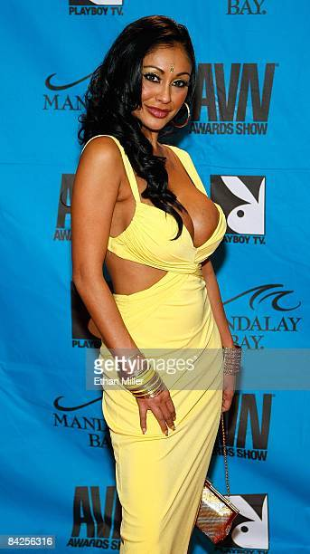 Adult film actress Priya Rai arrives at the 26th annual Adult Video News Awards Show at the Mandalay Bay Events Center January 10 2009 in Las Vegas...