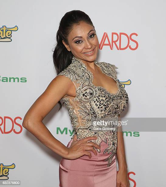 Adult film actress Priya Rai attends the 2017 Adult Video News Awards at the Hard Rock Hotel Casino on January 21 2017 in Las Vegas Nevada