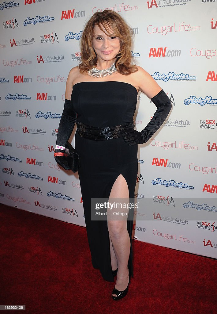 Adult film actress Rebecca Bardoux arrives for The 1st Annual Sex Awards 2013 held at Avalon on October 9, 2013 in Hollywood, California.
