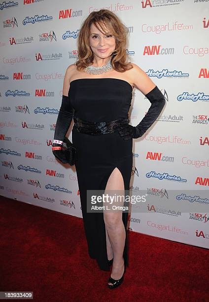 Adult film actress Rebecca Bardoux arrives for The 1st Annual Sex Awards 2013 held at Avalon on October 9 2013 in Hollywood California
