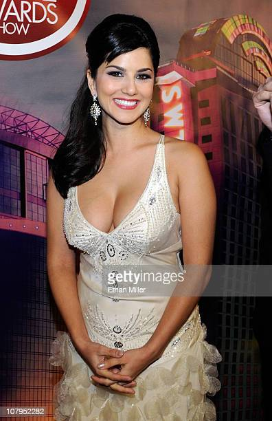 Adult film actress Sunny Leone arrives at the 28th annual Adult Video News Awards Show at the Palms Casino Resort January 8 2011 in Las Vegas Nevada