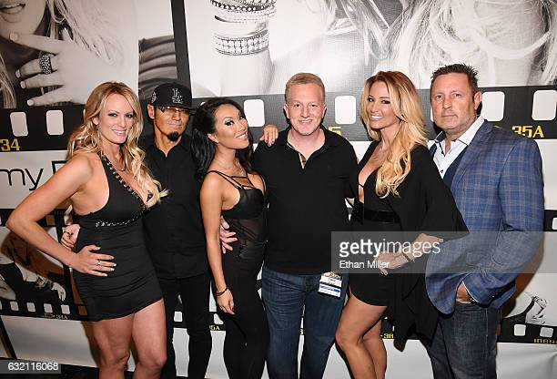 Adult film actress/director Stormy Daniels Wicked Pictures publicist Daniel Metcalf adult film actress/director Asa Akira Wicked Pictures Founder...