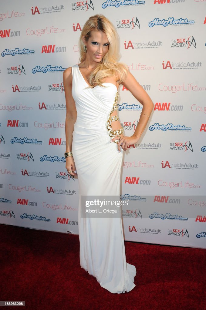 Adult film sctress Jessica Drake arrives for The 1st Annual Sex Awards 2013 held at Avalon on October 9, 2013 in Hollywood, California.