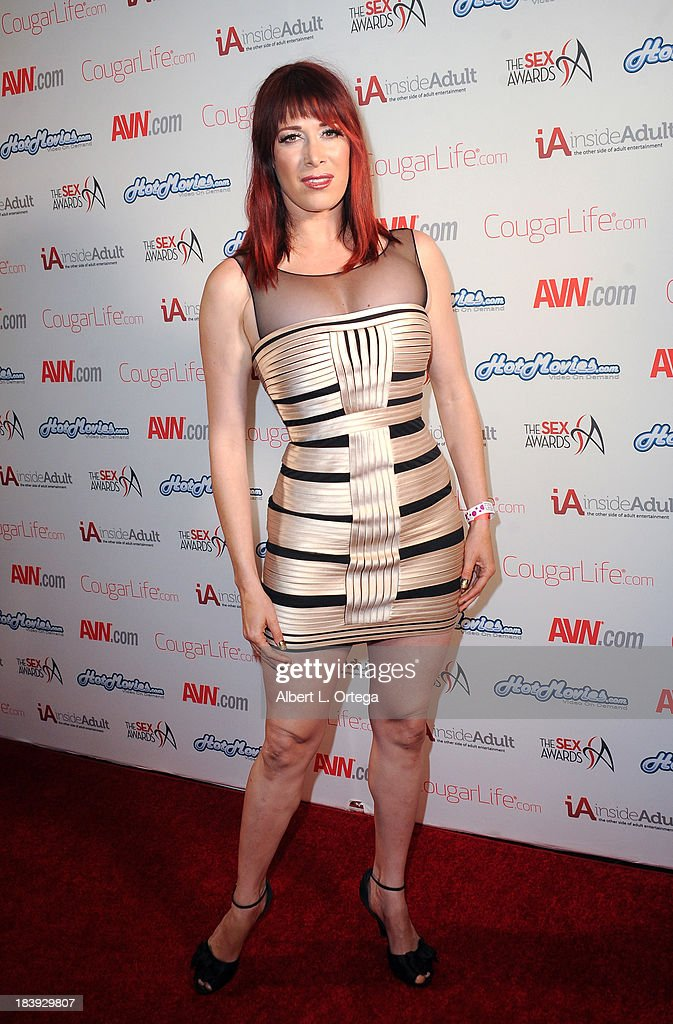 Adult film sctress Odile arrives for The 1st Annual Sex Awards 2013 held at Avalon on October 9, 2013 in Hollywood, California.