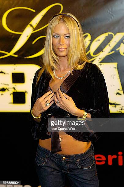 Adult Film Star and Lingerie Bowl Commissioner Jenna Jameson during the Lingerie Bowl IV Kickoff party celebrating the start of the 20062007 Lingerie...