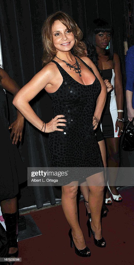 Adult film star Rebecca Bardoux arrives for the 29th Annual XRCO Awards held at SupperClub Los Angeles on April 25, 2013 in Hollywood, California.