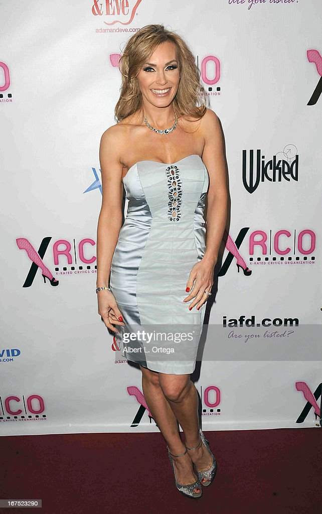 Adult film star Tanya Tate arrives for the 29th Annual XRCO Awards held at SupperClub Los Angeles on April 25, 2013 in Hollywood, California.