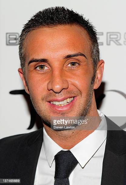 Adult flim star Keiran Lee arrives for Brazzers party at the Tao Nightclub at the Venetian Resort Hotel Casino on January 20 2012 in Las Vegas Nevada