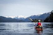 Kayaking in Sitka Harbor, Alaska