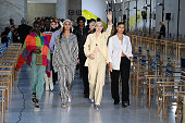 Max Mara - Backstage - Milan Fashion Week - Spring /...