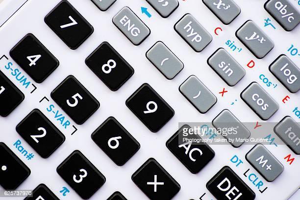 Advanced calculator detail