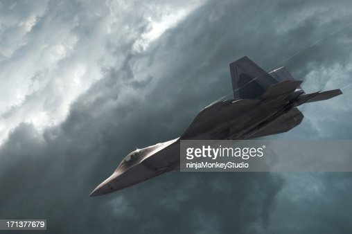 F-22 Advanced Tacticle Fighter Plane