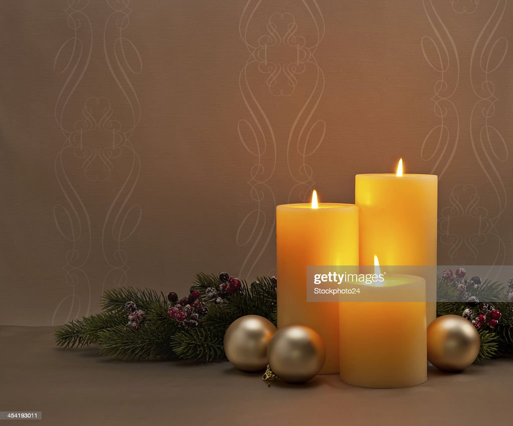 Advent Christmas wreath : Stock Photo